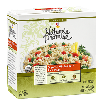 Nature's Promise Organic Whole Grain Rice Pilaf - 2 CT