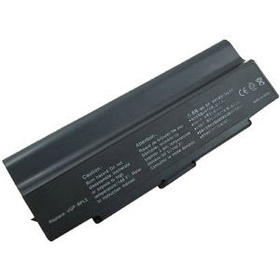 Laptop Battery Pros Extended Life Replacement Battery for Sony VAIO BPL2, BPS2, Black