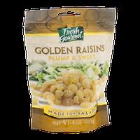 Fresh Gourmet Golden Raisins Plump & Sweet