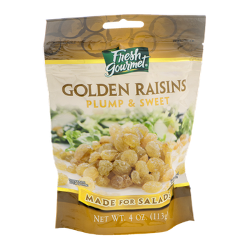 Fresh Gourmet Golden Raisins Plump & Sweet