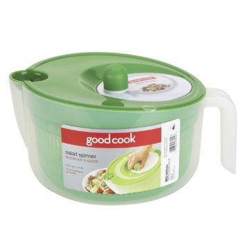 Good Cook Deluxe Salad Spinner W/Handle, Clear, 1 ea