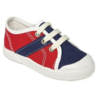 Toddler Boy's United Shoes of America Timmy Sneakers - Red Rojo 6