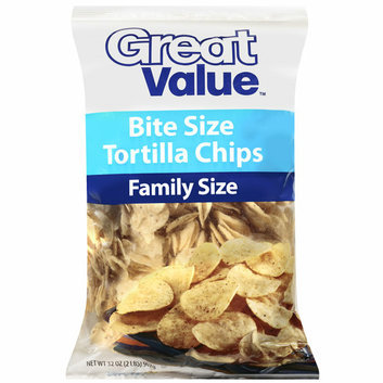 Great Value Bite Size Tortilla Chips