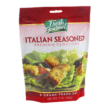 Fresh Gourmet Premium Croutons Italian Seasoned