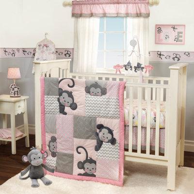 Bedtime Originals Pinkie 3pc Crib Bedding Set