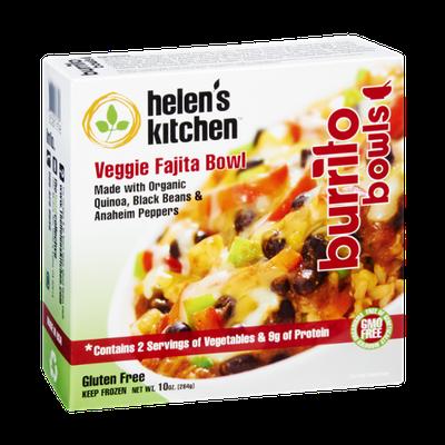 Helen's Kitchen Gluten Free Veggie Fajita Burrito Bowls