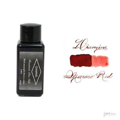 Diamine 30 ml Bottle Fountain Pen Ink, Monaco Red