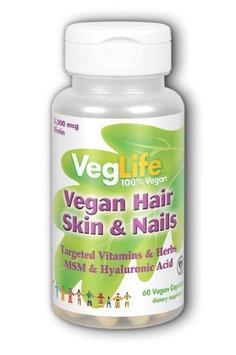 Vegan Hair, Skin & Nails VegLife 60 VCaps