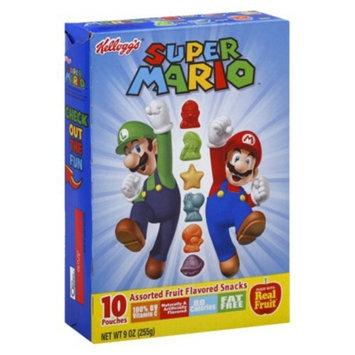 Kellogg's Super Mario Brothers Fruit Flavored Snacks 9 oz