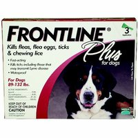 Frontline Plus Dog 89-132lbs