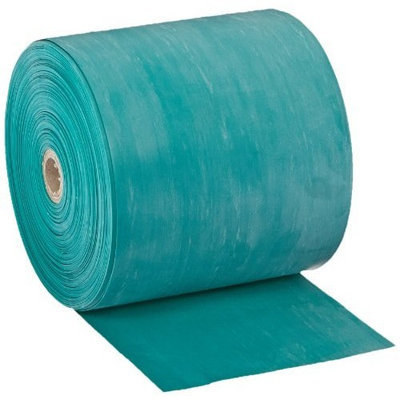 Cando 10-5623 Green Latex-Free Exercise Band, Medium Resistance, 50 yd Length