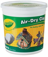 Crayola Air Dry Clay Bucket - White 5 lbs.