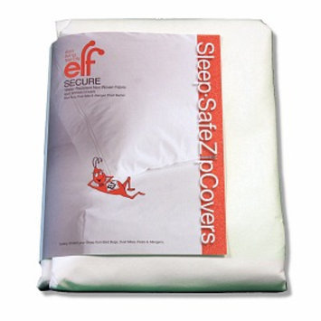 Sleep Safe SECURE Boxsprings Sleep-Safe ZipCover 9 Inch