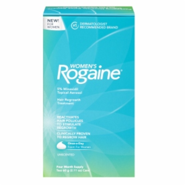 Women's Rogaine Hair Regrowth Treatment Foam, 4 Month Supply, 1 ea