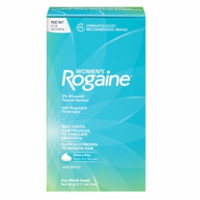 Women's Rogaine Hair Regrowth Treatment Foam, 4 Month Supply, 1 ea