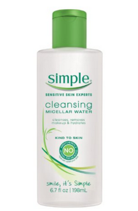 Simple® Micellar Water Cleanser
