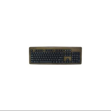Impecca KBB103 Bamboo Designer Keyboard Walnut
