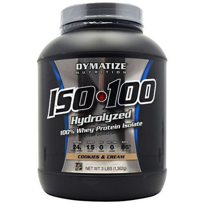 Dymatize Nutrition ISO-100 Cookies & Cream 1362g 1362g