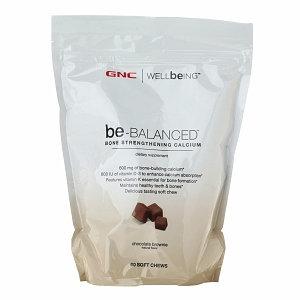 GNC WELLbeING be-Balanced Calcium Soft Chews
