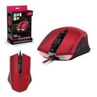 Speedlink Ledos 3000dpi Optical Gaming Mouse Red (sl-6393-rd)