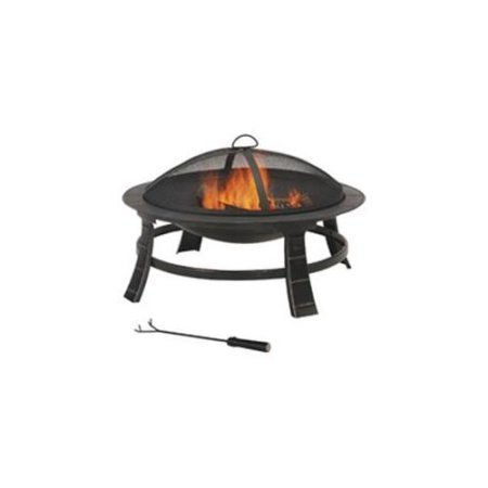 OUTDOOR FIREPIT 30IN ROUND MINTCRAFT Outdoor Fireplaces FT-084