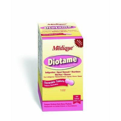MEDIQUE 22013 Antacid/Anti-Diarrheal,262mg, PK500