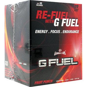 Gamma Enterprises 4070015 G Fuel Fruit Punch 20 Stick Packs