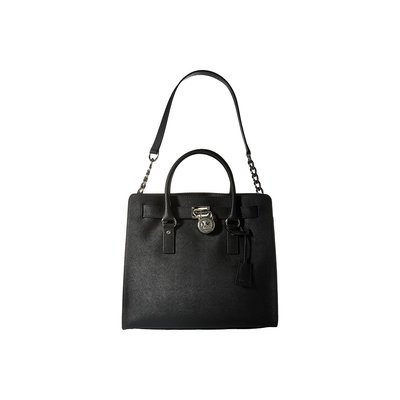 MICHAEL Michael Kors Hamilton Large Tote Bag, Black