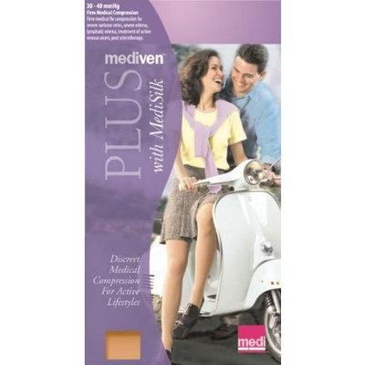 Medi Plus Pantyhose 30-40mmHg Open Toe, I, BGE