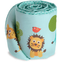Baby Boom Jungle Jam Crib Bumper