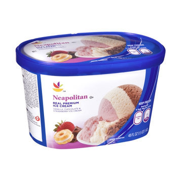 Ahold Neapolitan Real Premium Ice Cream
