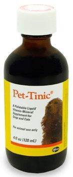 Pfizer Pet-Tinic Liquid Vitamin: 4 oz