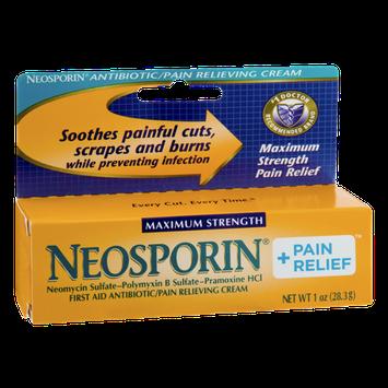 Neosporin Maximum Strength Antibiotic/Pain Relieving Cream