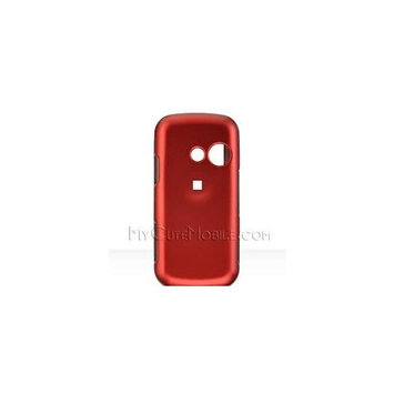 Bella LG Cosmos VN250 and LG Rumors 2 Lx265 Lx 265 Cover Faceplate Face Plate Housing Snap on Snapon Protective Hard Crystal Case Honey RED Orange