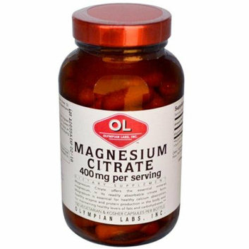 Olympian Labs 388942 Magnesium Citrate