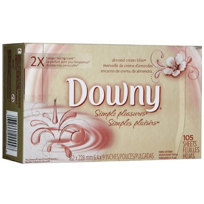 Downy Simple Pleasures Dryer Sheets-Orchid Allure-105 count