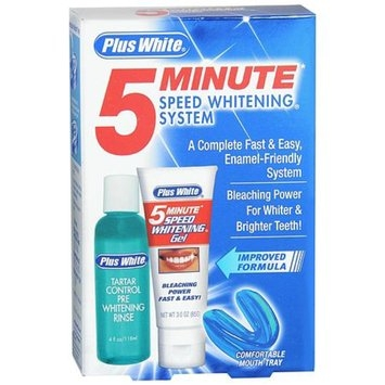 Plus White 5 Minute Speed Whitening System