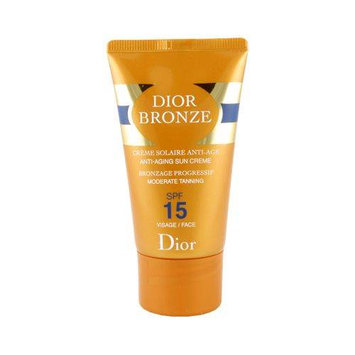 Christian Dior Dior Bronze Anti-Aging Sun Creme for Face Moderate Tanning SPF 15