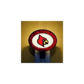 Memory Company Louisville Cardinals Art-Glass Nightlight
