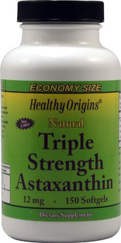 Healthy Origins Triple Strength Astaxanthin 12 mg - 150 Softgels