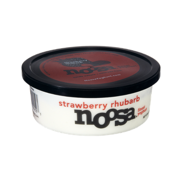 Noosa Gluten Free Strawberry Rhubarb Finest Yoghurt