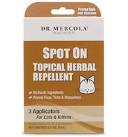 Dr Mercola Spot On Topical Herbal Repellent - Cats & Kittens
