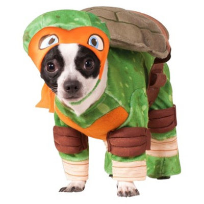 Teenage Mutant Ninja Turtles Teenaged Mutant Ninja Turtles Michelangelo Pet Costume - XL