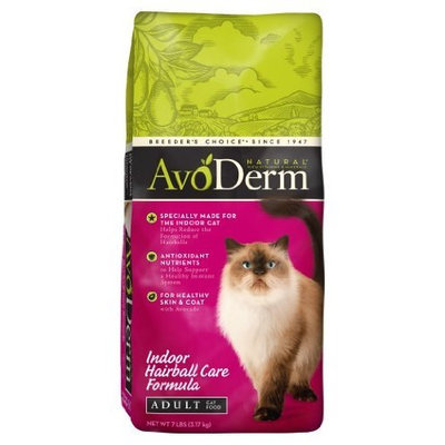 Avoderm Naturals AvoDerm Natural Indoor Hairball Care Formula Adult Cat Food