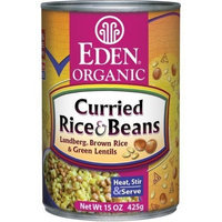 Eden Curried Rice & Lentils, Organic, 15-ounces (Pack of12)
