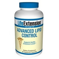 Life Extension Advanced Lipid Control VCaps, 60 ct