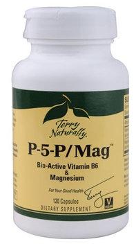 Europharma Terry Naturally EuroPharma - Terry Naturally P-5-P/Mag Pyridoxal-5-Phosphate B6 & Magnesium - 120 Capsules