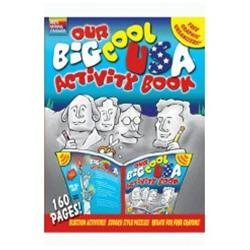 Gallopade International Gallopade GALSSUSA The Big Cool Usa Activity Book