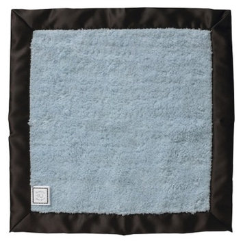 Swaddle Designs Baby Lovie Fuzzy Security Blanket - Blue