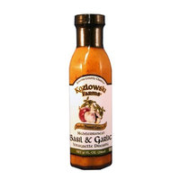 Kozlowski Farms Mediterranean Vinaigrette Dressing, Basil and Garlic, 10.0-Ounce (Pack of 6)